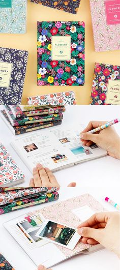 My flowers bloom all year long with the Ardium Flowery Daily Journal!