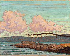 "Ken faulks (1964-….), Fallen Tree, Arbutus Cove, 2013, 8"" x 10"", oil on panel"