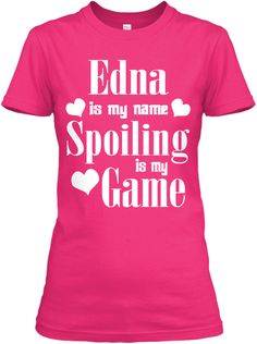 Edna Is My Name Heliconia T-Shirt Front