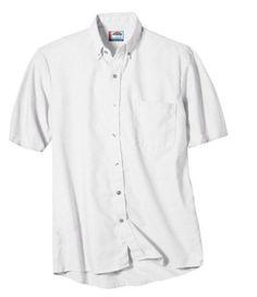 BLACK X-Large Ed Garments Mens Short Sleeve Button Down Twill Shirt