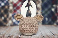 baby deer hat // hunting hat // multiple sizes // by bitOwhimsy