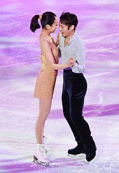 Mao Asada & Daisuke Takahashi / Figure skater. In Sochi.