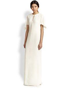 3.1 Phillip Lim - Draped Split-Back Gown