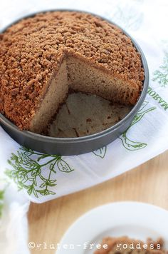 Gluten-Free Goddess Recipes: Gluten-Free Applesauce Crumb Cake with Cinnamon