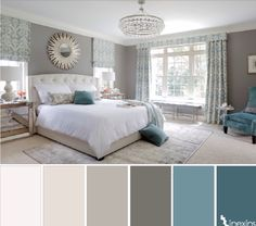 Inspiration couleurs chambre