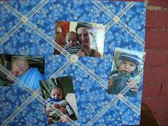 Craft Day: Easy Photo Board - A Million Moments
