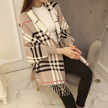 Dupla face das mulheres marta veludo casaco cardigan camisa batwing borla manto capa camisola outerwear feminino Mink Cashmere(China (Mainland))