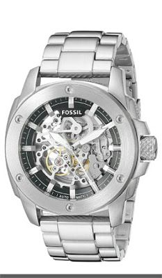 Fossil Modern Machine Automatic Stainless Steel Watch   $132.95 & FREE Shipping