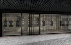 CJC Interior Design | Architecture | Nude Fashion Store | Entrance | Light | Modern | Lisbon