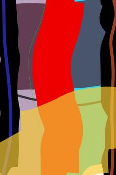 Digital Art Print Laminated to Plexiglass, Titled: Untitled #106