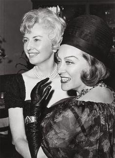 Gloria Swanson and Barbara Stanwyck