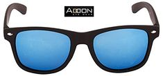 Addon Eyewear Mirrored Wayfarer Sunglasses for Men Women Boys Girls non Polarized Goggle-Stylish Blue Lens | Clothing and Accessories Men Sunglasses Sunglasses and Spectacle Frames | Best news and deals!