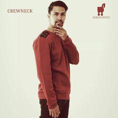 Inkognito Red Crewneck Sweater