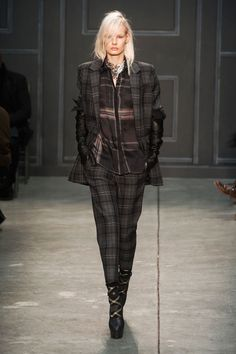 Mad For Plaid - The New York Fall 2014 Runway