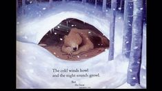 Bear Snores On--precious version--read aloud by a family with small children--awesome for peer modeling of fluency and expression--the snores are too cute! Winter Activities, Classroom Activities, Book Activities, Winter Fun, Winter Theme, Bear Theme, School Videos, Library Lessons, Educational Videos