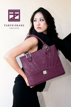 The Catalyst briefcase by Taryn Zhang New York. Check out TZ's collection of women's briefcases and handbags at tarynzhang.com. Briefcase Women, Purses And Bags, Briefcases, Shoulder Bag, Handbags, My Style, Fashion Ideas, Stuff To Buy, York