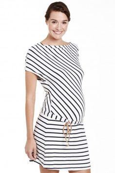 mabapa vestido maternidad rayas