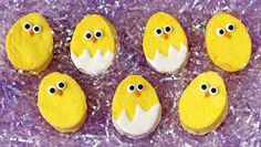 Homemade marshmallow chicks are easy, delicious and a cute treat to add to any Easter basket.