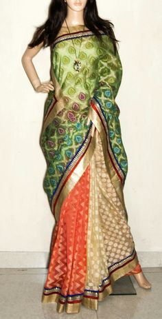 Ethnic saree / wrap / dress / wear .. from the cultural trove of bengal ...