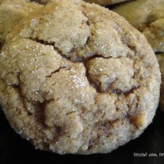 Pumpkin Gingersnap Cookies. Tried and are very good. Don't be afraid to take them out when soft.