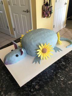 Armadillo cake