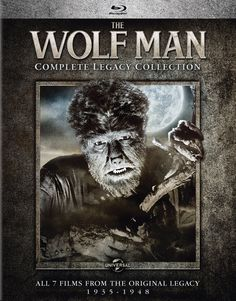 The Wolf Man Complete Legacy Collection (1935-1948) Blu-ray