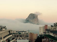 Ifach In The Mist. The Famous Rock In Calpe and for more information about the Parque Natural Peñón de Ifach, visit our website link.