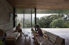 Sawmill House by Archier Studio, Victoria, Australia. Photo by Benjamin Hosking.