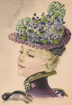 Young Ladies' Hat from March 1898