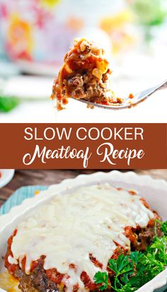 Delicious Crockpot Recipes, Crockpot Meat, Slow Cooker Meatloaf, Slow Cooker Recipes, Easy Dinner Recipes, Sausage Potato Soup, Italian Meatloaf, Meat Loaf, Cookers