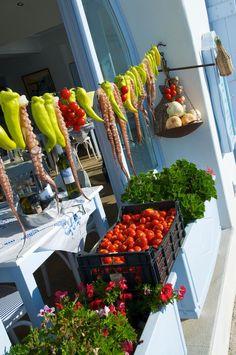 Santorini food
