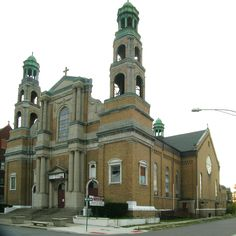 St. Stanislaus Roman Catholic Church - Detroit, Michigan.  Former Polish congregation, the largest in h city, also had a convent at one time and large schools.  Sold to a Baptist congregation in a Diocese reorganization it went into foreclosure in 2012.  The schools are still in use by the community and indecent from this building.  The building is in terrible despair now.