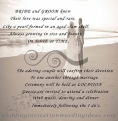Funny beach wedding invitations 10 examples of beach wedding diy beach wedding invitation filmwisefo Gallery