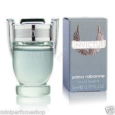Mini Paco Rabanne Invictus Edt 5 ml. 0.17 oz New!! Gotta have the mini for on the go ;)