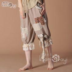 Mori Kei pants--they look so comfy~