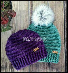 Crochet Hat Pattern Crochet Pattern Crochet Slouchy Pattern