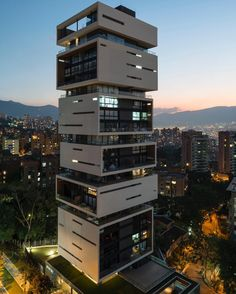Energy Living Building M Group Architects Medellin - Architecture and Home Decor - Bedroom - Bathroom - Kitchen And Living Room Interior Design Decorating Ideas - Architecture Antique, Architecture Magazines, Modern Architecture House, Futuristic Architecture, Modern Buildings, Residential Architecture, Amazing Architecture, Architecture Design, Future Buildings