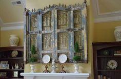 Wall Decor/headboard/fireplace