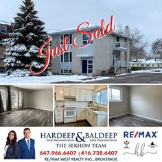 """@thesekhonteam_remax shared a photo on Instagram: """"💥💥JUST SOLD 💥💥 10 Applewood Dr, Belleville On. Congratulations to our clients on the sale of their home. Thank you for putting your trust…"""" • Jan 23, 2021 at 4:04pm UTC The 4, Trust, Congratulations, Real Estate, Outdoor Decor, Instagram, Home Decor, Decoration Home, Room Decor"""