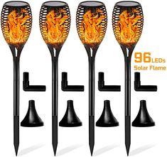 """Richtig schöne warmweiße LED Feuer!  Dieser Artikel passt für Ihre . Geben Sie Ihr Modell ein, um sicherzustellen, dass dieser Artikel passt. P.when(""""ReplacementPartsBulletLoader"""").execute(function(module){ module.initializeDPX(); }) [Schöner Tanzflammeneffekt] Die Flammenleuchte mit 96 Stück LEDs von FLOWood verfügt über einen lebendigen tanzenden Flammeneffekt, der eine warme, romanische Atmosphäre schafft. Mit der hellen Strahlung ist sie ein optimaler Begleiter für die Veranstaltungen im… Solar Powered Lights, Solar Lights, Garden Torch, Lampe Decoration, Path Lights, Dusk To Dawn, Torch Light, Outdoor Lighting, Lamp Light"""