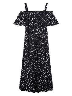 Dolce & Gabbana Polka Dot Cotton Short-Sleeved Dress Image 0