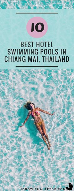 Cool down and chill out at these wonderful pools situated in the most ideal locations in Chiang Mai, Thailand. You never have to leave the hotel when you're relaxing in one of these spacious, crystal-clear pools. Hotel Swimming Pool, Cool Swimming Pools, Best Swimming, Thailand Travel Tips, Asia Travel, Italy Travel, Phuket, Travel Advice, Travel Articles