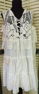 Bohemian Gypsy Antique Lace Dress/Jumper http://www.victoriantailor.com/vt-wp/blog/