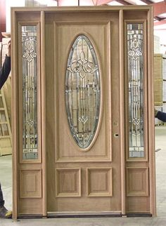 Wooden Glass Door, Glass Doors, Entry Doors, Entryway, Main Door Design, Interior Doors, Teddy Bear, Woodworking, Exterior