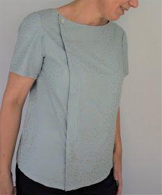 Blusen, ganz klassisch aus Webware mit Knopfleiste und Kragen, gehörten irgendwie noch nie zu meinen Lieblingskleidungsstücken. Empfand ich...