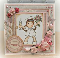 Shabby Chic Cards, Magnolia Stamps, Magnolias, Confirmation, Young People, Diy Cards, Cardmaking, Scrapbooking, Tips