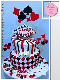 POKER CAKE - Cake by Anna