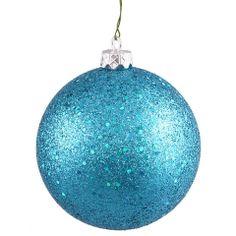 "Ball Balls Decorations Sequin Finish Balls 12""  Christmas Treesmajestic Peacock Theme"