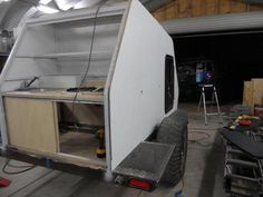 Skersfan's New Shuttle Pod Trailer Build. - Page 21 - Expedition Portal Eco Trailer, Off Road Trailer, Trailer Build, Utility Trailer, Cargo Trailers, Teardrop Trailer, Camper Trailers, Campers, Fj Cruiser Forum