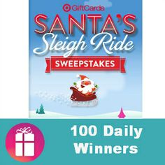Do you want to win a $25 Target gift card?  1,500 WINNERS (ends Dec. 15) http://freebies4mom.com/sleigh-ride/